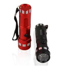 14 LED 395nm Torche Lampe de poche UV lumière noire pour chien détecteur d'urine de chat