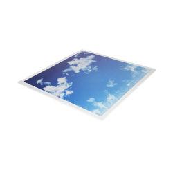 Cielo personalizado techo Slim LED Lámpara de luz de panel plano para la iluminación interior 600X600
