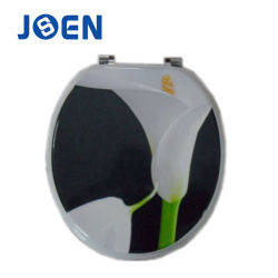 Barato preço de transferência a quente do molde de MDF de Impressão de papel higiénico de madeira tampa do assento