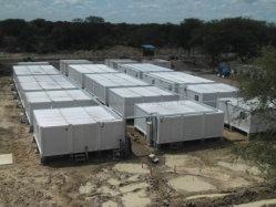 Behälter-Bauunternehmen Somalia-Flatpack für modulares Gebäude, Anpassung, Büro und lebendes Gebäude