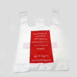 Биоразлагаемые пластиковую сумку для повышенной прочности с D2w мешок для принятия решений