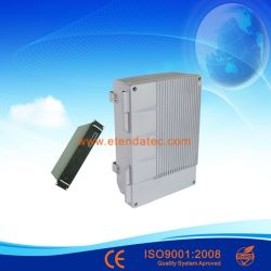 tetra ripetitore ottico radiofonico bidirezionale della fibra di frequenza ultraelevata di VHF dell'accoppiamento senza fili 43dBm