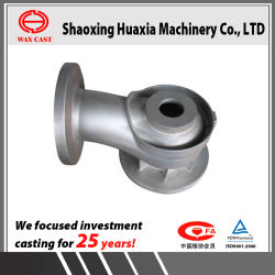 OEM SS304 Investment Casting Lost Wax Casting Volute Body