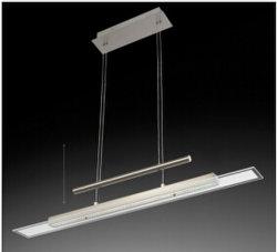إرتفاع جديدة حديث قابل للتعديل ألومنيوم أطلس نيكل [كلور تمبرتثر] يغيّر [لد] لمس معتم مدلّاة ضوء مصباح