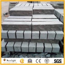 Commerce de gros de la pierre naturelle Curbstone Bluestone chinois pour l'asphaltage des pierres calcaire