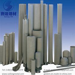 Acero inoxidable/Titanio/Níquel el tratamiento de agua en polvo de la industria química Metallugry Filtro de metal