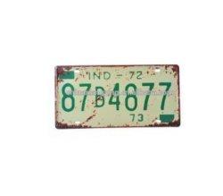 Antique en Retro reflective Car Plate & Decorative Car Plate