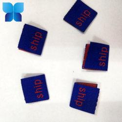 Gemaakt in Etiket van de Schoen van China het Douane Geweven