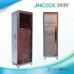 Plastikschrank-Art-hölzerne Korn Voltas Frischluft-Kühlvorrichtung-Wüsten-Kühlvorrichtung