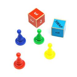Commerce de gros risque intéressante de haute qualité planche de jeu de pions Accessoires