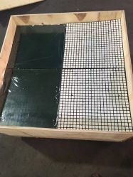 Piastrina di ceramica resistente all'uso del rivestimento della piastrina composita di gomma di ceramica dell'allumina