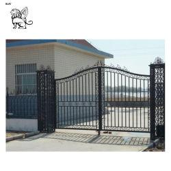 precio de fábrica la pintura Puerta de Hierro para la casa Igz-021