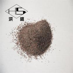 8-5-3-1-0mm 던지는 모래 제품 브라운 알루미늄 산화물 모래 또는 곡물