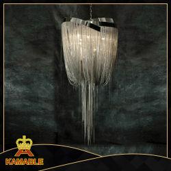 Villa design intérieur de la chaîne d'argent pendentif décoratif lustre (KA1091)
