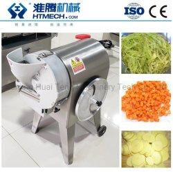 Légumes Fruits Slicer Machine de coupe / la pomme de terre de concombre oignon carotte découper en dés de déchiqueter la machine 500kg/h