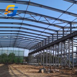 0,5Мм гофрированной листовой стали структура практикума здание с помощью мостового крана для продажи