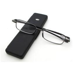 Dobragem de metal de alta qualidade óculos de leitura com Estojo dobrável óculos de leitura para os Idosos