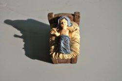 폴리레진 종교 크리스천 아기 조각상 도매