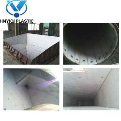 Non-Stick UHMWPE ou HDPE Bac feuille de doublure de charbon