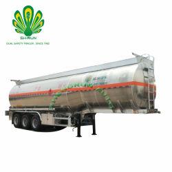 40/45/50 Cbm 3 eixos de água peptonada tamponada a gasolina/Tanque Diesel semi reboque/reboque do veículo