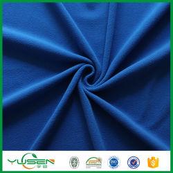 DTY 150D 144f Plain teints 100 % polyester Tissu de laine polaire