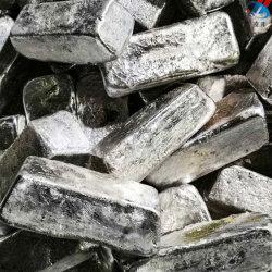 Les lingots en alliage de magnésium//lingots Argent /lingots de métal/prix/zinc en alliage de magnésium /lingot de silicium /Zk30/de la métallurgie, en alliage de magnésium minéraux un
