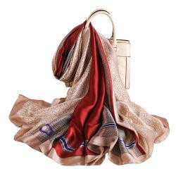 Печать пятно шелковый женский головной убор Скрыть Изображения