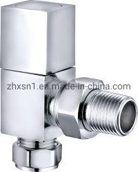 Pulido y cromado de la válvula del radiador
