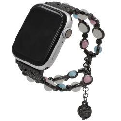 Apple Watch Band Strap Wristband 38mm/40mm/42mm/44mm SeriesのためのハンドメイドのJewelry Beaded Bracelet 5 4 3 2 1 Watch Bands