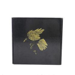 블랙 컬러 인쇄 가죽 슈즈용 종이 포장 상자