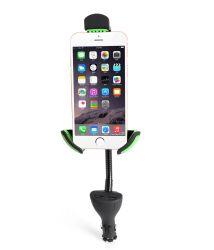 L'Université de haute qualité Chargable Téléphone de voiture USB double support de fixation voiture les détenteurs de téléphone cellulaire titulaire de la nouveauté