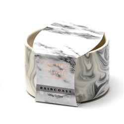 Vela Perfumada populares 100g Vela em mármore de Soja Jar 4 Cores Quarto mini lâmpadas mais quentes de velas