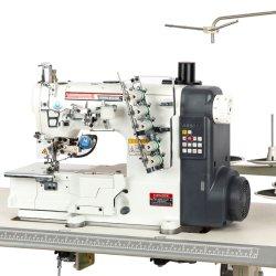 SZ-562e-01-EUT 自動フラットベッドカバーステッチインターロック産業用ミシン 自動ねじ山トリムとフットリフターを使用