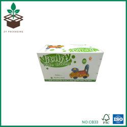 Casella di colore certificata Fsc, contenitore di giocattolo. Il formato/marchio/materiali possono essere personalizzati
