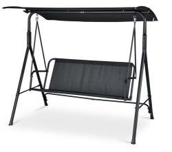 3-Seater de Schommeling van het Metaal van de Vrije tijd van de Tuin stoel-Voeten