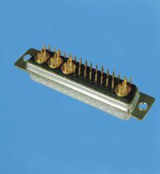 Heiße Zellen-Fabrik-kundenspezifische 36W4 Energie D-SUB