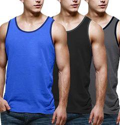 Les hommes de tee-Shirts Camisoles salle de gym d'entraînement musculaire Bodybuilding Fitness Tee Sleeveless T-shirts