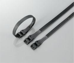 PA12 ВЫСОКИЙ УФ климатических изменений сопротивления блокировки Doouble кабельные стяжки