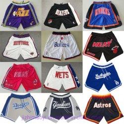 Comercio al por mayor a Don Houston Astros Yankees de Nueva York Raptors Lakers Magic los Miami Heat New York Knicks Washington Wizards redes de Jazz de Utah cortos Basketball Béisbol