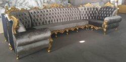 Grey Fabric에 있는 Karaoke Couch Sofa