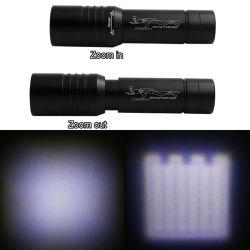 [هي بوور] [ت6] [رشرجبل] [لد] ألومنيوم الغوص مصباح كهربائيّ [زوومبل] الغوص مشعل ضوء مع 3 عمل أساليب