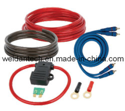 10 Ga Car Kit de cableado de potencia de audio (WD18C-005).