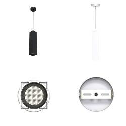 2021 에너지 절약 스포트라이트 LED GU10 치구 펜던트 스팟 조명 하우징