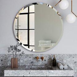 4mm 5mm de 6mm rond Rectangle Meubles Décoration Miroir ovale monté sur un mur miroir biseauté décoratifs salle de bain Salle de bains simple vanité miroir de maquillage