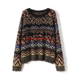 Strickjacke-Damen strickten Strickjacke Pulloverak1018