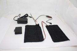 Bateria de fibra de carbono Correia Aquecidos com Controle de 3 níveis