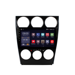 최신 판매 2.5D Mazda 6에서 9 인치 인조 인간 8.1 자동차 라디오 DVD 플레이어 2004-2015년 GPS Glonass 항법 오디오 영상 SWC 2 DIN