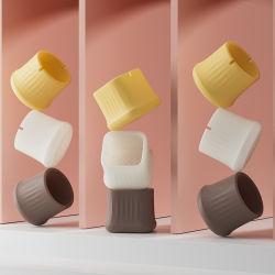 Op maat gemaakte rubberen stoelvoetenhoes tafelpoot einddop