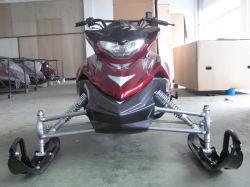150 cc motos de nieve nieve Scooter en rojo