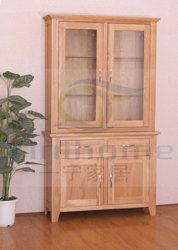 Дуб книжном шкафу с груди (L049)